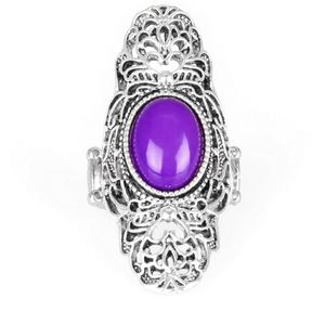 NWT Flair for the Dramatic Purple Ring